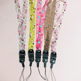 cell phone lanyard neck strap Canada - Lace Phone lanyard Neck Strap Phone Lanyard For Cell Phone Camera iPod Mp3 Mp4 USB Flash Drive ID Card Badge Other Electronic Devices