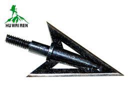 $enCountryForm.capitalKeyWord UK - Stainless Steel Hunting Arrowheads Recurve bow glass fiber carbon universal stainless steel black fish arrow,Arrow Heads Points,arrowheads b