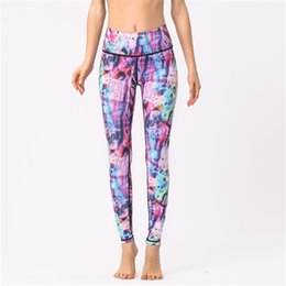 $enCountryForm.capitalKeyWord NZ - Women Yoga Cropped Pants High Waisted Fitness Legging Sport Gym Running Dance Cropped Trousers Super Elastic Tight Skinny Ankle Length Pants