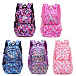 Cute Korean Style Backpacks Australia - Korean Style Student's Backpack Innovative Cute Shoulder Bag For Student Children Waterproof Oxford Cloth Computer Pocket Purple