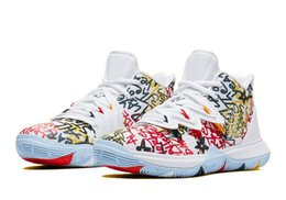 best canvas prints Canada - Best Kyrie 5 Keep Sue Fresh for sale With Box Hot Irving 5 Basketball shoes shop free shipping Drop Shipping US7-US12