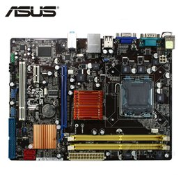 Chinese  ASUS P5KPL-AM SE Motherboard LGA 775 DDR2 4GB For Intel G31 P5KPL-AM SE Desktop Mainboard Systemboard SATA II PCI-E X16 Used manufacturers