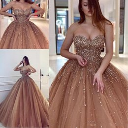 d9088a7a2e Maternity bandage dresses online shopping - Luxurious Sexy Evening Dresses  Sweetheart Beaded Crystals Tulle Prom Dresses