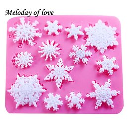$enCountryForm.capitalKeyWord Australia - 3D christmas decorations snowflake Lace chocolate Party DIY fondant baking cooking cake decorating tools silicone mold