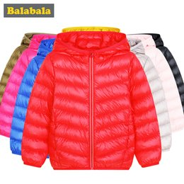 $enCountryForm.capitalKeyWord Australia - Balabala girls boys Duck Down Jackets children fashion clothing winter jacket thick clothes for kids for 20 degrees below zero