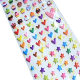 $enCountryForm.capitalKeyWord Australia - 20packs lot kawaii birthday theme decorative 3D stationery sticker DIY adhesive seal label album dairy phone deco bubble sticker