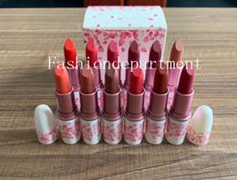 $enCountryForm.capitalKeyWord Australia - Factory Direct HOT M perfect Makeup Luster Lipstick Matte Lipstick 3g 12 colors Lipstick