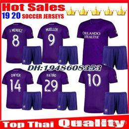 Orlando City Shirt Kaka Australia - Kids new 2019 2020 MLS Orlando City soccer jersey top quality children 19 20 KAKA DWYER COLMAN boy uniforms football jerseys shirts