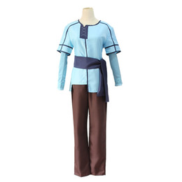 Chinese  Christmas Halloween Popular Aime Game COS Sword Art Online Alicization Eugeo Childhood Cosplay Costume SAO Eugeo Outfit Uniform Customizable manufacturers