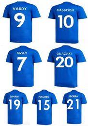 Chinese  18-19 Customized men VARDY 9 Thai Quality Soccer Jerseys,Customize GRAY 7 IBORRA NDIDI 25 15 MADDISON 10 Okazaki 20 Morgan 5 Iheanacho wears manufacturers