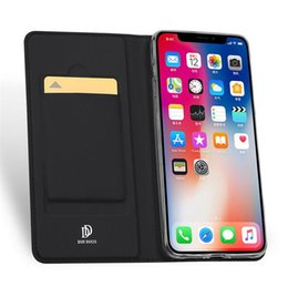 New Wallet Phone Case für iPhone X XR XS Max 8 7 6 6 s plus Galaxy Note9 s9 s8 S10 S10e Glattes Hautgefühl Flip Case Rull Holder
