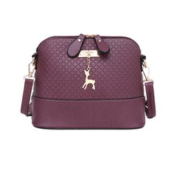 Crocodiles Alligator Toys Australia - HOT SALE!2019 Women Messenger Bags Fashion Mini Bag With Deer Toy Shell Shape Bag Women Shoulder Bags handbag