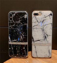 $enCountryForm.capitalKeyWord NZ - Marble three-row diamond phone case for iphonex iPhone7plus custom creative protective cover