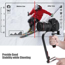 Dslr Slr Camera Australia - Handheld Stabilizer Gimbal for DSLR SLR Digital Camera Sport DV Aluminum Alloy estabilizador de camera DSLR Universal