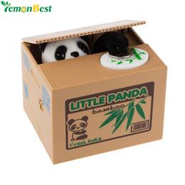 $enCountryForm.capitalKeyWord NZ - cat Cute Automatic Stole Coin Piggy Bank Panda Yellow   White Cat 11.5x9.5x9cm Money Saving Box Moneybox Gifts