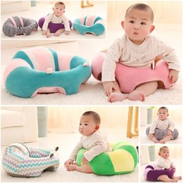 Plush Safety Eat Baby Chair Seat Soft Support Infant Seat Child Pillow Cushion Sofa Chairs LLA330 on Sale