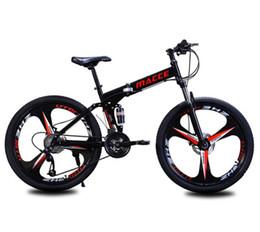 Fábrica al por mayor ventas directas Maixi bicicleta de montaña bicicleta plegable 26 pulgadas absorción choque doble velocidad una generación en venta