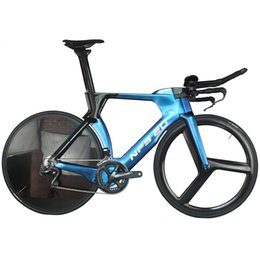 $enCountryForm.capitalKeyWord Australia - New Style 700C Road Carbon PF46 Time Trial TT Bike Bicycle Frame with DI2 compatible Blue glossy painting