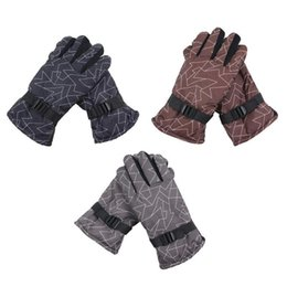 e7625a2794da9 Brown Motorcycle Gloves Men Australia - Men Women Waterproof Heated Winter  Warm Skiing Gloves Windproof Thickening