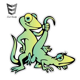 "$enCountryForm.capitalKeyWord UK - wholesale 20pcs lot Gecko Lizard Sex Adult Funny Car Bumper Window Decor Vinyl Sticker Decal Waterproof Car Styling Accessories 4"" x 5"""