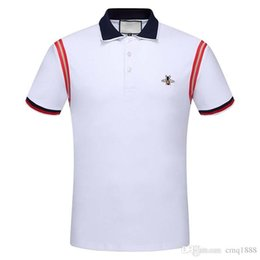 Tshirt Polos Australia - Luxury Casual Vintage Capatain Tshirt Fashion Mens Polo shirt T-Shirt Casual polos Cotton Tee Top SIZE M-3XL