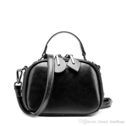 Genuine Leather Handbag Cowhide Shoulder Bag Australia - Leather Genuine Shoulder Bags Cowhide Leather Pocket Purse Designer Handbags Genuine Leather Bag