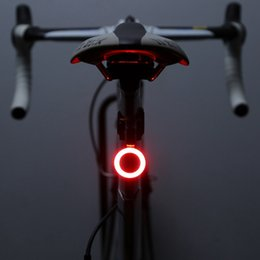 Wholesale USB Charging Bicycle Taillights MTB Lights Night Riding Road Bike Riding Creative Waterproof Taillights Bicycle Light New