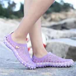 Girls Flat Jelly Shoes NZ - Beach Slippers Women Jelly Shoes Girl Rubber Shoes Ladies Flip Flops Outdoor Sandals Summer Flats Platform Footwear Mujer