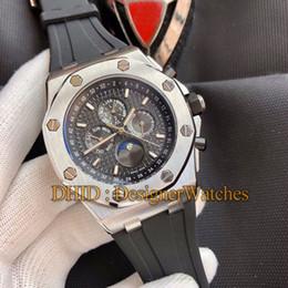 $enCountryForm.capitalKeyWord Australia - Sports Mens Designer Watches Mechanical Automatic Wristwatch 45mm Silver 316L Steel Case Black Rubber Band Montre De Luxe watch