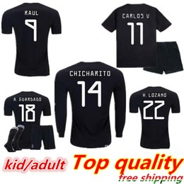 cff0c649f ChiCharito jersey kids online shopping - Kids Jersey Mexico Gold Cup Soccer  Jerseys Home Black Youth