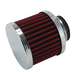 Wholesale Air Intake Filter height MM Neck ID mm Turbo Vent Crankcase Breather red