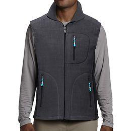 $enCountryForm.capitalKeyWord Australia - Men's chalecos para hombre Mountain Full Zip Soft Fleece Vest,Multi-function Pocket Male Waistcoat Autumn Warm Sleeveless Jacket