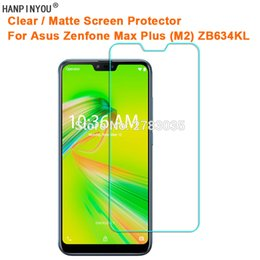 $enCountryForm.capitalKeyWord Australia - For Asus Zenfone Max Plus (M2) ZB634KL Clear Glossy   Anti-Glare Matte Screen Protector Protective Film Guard (Not Glass)