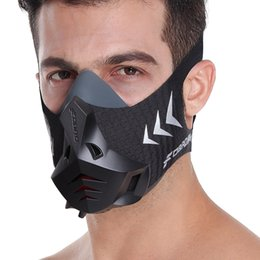 FDBRO New Sports Mask Official Edition Enhance Physical Endurance and CardiopulmonaryCapacity Resistance Training Sports Mask Free Shipping on Sale