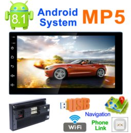 Wholesale Gps Radio Australia - by DHL or Fedex 10pcs Android 8.1 Car Multimedia Player Car PC Tablet Double 2din7''GPS Navigation Stereo Radio Bluetooth