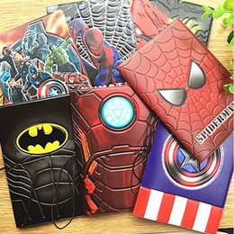 wholesale passport case cover Australia - 22 Styles Fashion Cool Cartoon 3D Passport Cover Men Women PU Leather Travel Passport Holder Case Card ID Holders 14*9.6cm
