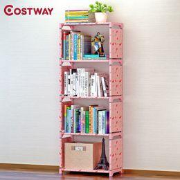 $enCountryForm.capitalKeyWord NZ - Costway Bookshelf Storage Shelve Books Children Book Rack Bookcase For Home Furniture Boekenkast Librero Estanteria Kitaplik Q190610