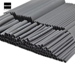 Cars Wholesale Prices Australia - New Arrival 127 PCS 7.28m Black 2:1 Assortment Heat Shrink Tubing Tube Car Cable Sleeving Wrap Wire Kit Wholesale Price
