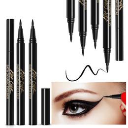 Gel Eyes Liner Australia - ROREC Enhanced Liquid Eyeliner Sticker Eye Liner Gel Black Eye Pencil Waterproof Sweat Resist Charming Eyeliner Makeup Cosmetic