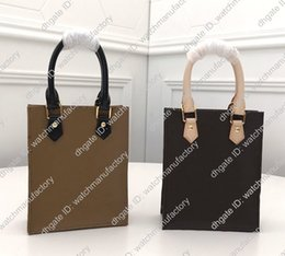 open box mini NZ - Luxury Designer Small Mini Shoulder Handbag Flat Tote Purse Monogram Genuine Leather High Grade Open Case Phone Box Pouch