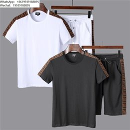 $enCountryForm.capitalKeyWord Australia - Men's T-shirt shorts suit men tracksuit new listing trend comfortable solid color minimalist style high end quality
