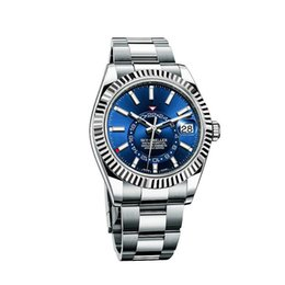Stone StrapS online shopping - luxury fashion watch mm luxury mens watch stainless steel strap movement automatic sapphire R mens wristwatch