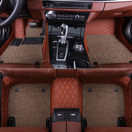 Carpet liner online shopping - quot SUNNY Car floor mats for Mitsubishi Lancer Galant ASX Pajero sport V73 V93 D car styling all weather carpet floor liner quot