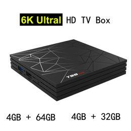 $enCountryForm.capitalKeyWord Australia - 4G 64G Allwinner H6 Android TV Box Newest Quad Core Smart Mini PC 6K Ultral HD Streaming Media Player 2.4G Wifi Android6.1 TVbox 4GB 32GB
