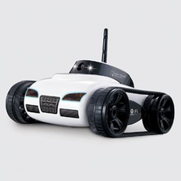 Rc aiRplanes cameRas online shopping - Happy Cow Rc tank WiFi Tank Car Toy With Camera Remote Control Video By IOS phone or Android toy For Children FSWB
