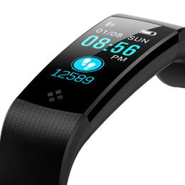 $enCountryForm.capitalKeyWord Australia - Cool Sport Bracelet Watch Women Men for Android IOS LED Waterproof Smart Watch Heart Rate Blood Pressure Pedometer Clock