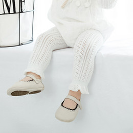$enCountryForm.capitalKeyWord Australia - Lace Cotton Kids Leggings For Girls Summer Mesh Baby Pants Capris Children Trousers Baby Girls Legging Clothes For 0-6 Years