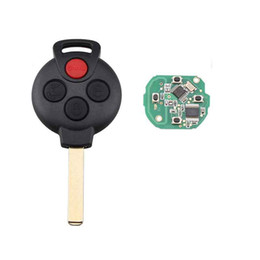 Mercedes benz button online shopping - Buttons MHz PCF7941 chip Remote Key Fob For Mercedes benz Smart FORTWO Keyless For Benz KR55WK45144 Key