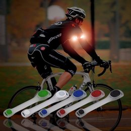 $enCountryForm.capitalKeyWord Australia - 1Pc Reflective Safety Belt Arm Strap Night Cycling Running LED Armband Light