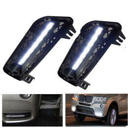 $enCountryForm.capitalKeyWord Australia - Car Accessories DRL For X3 F25 2011 2012 LED Daytime Running Light Automobile Parking Turn Signal Lights 12V